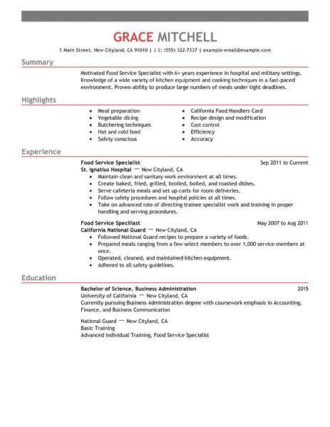 service industry resume resume sample customer service - Service Industry Resume Examples