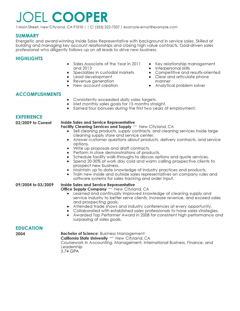 Sales Resume Skills Examples Examples Of Resumes