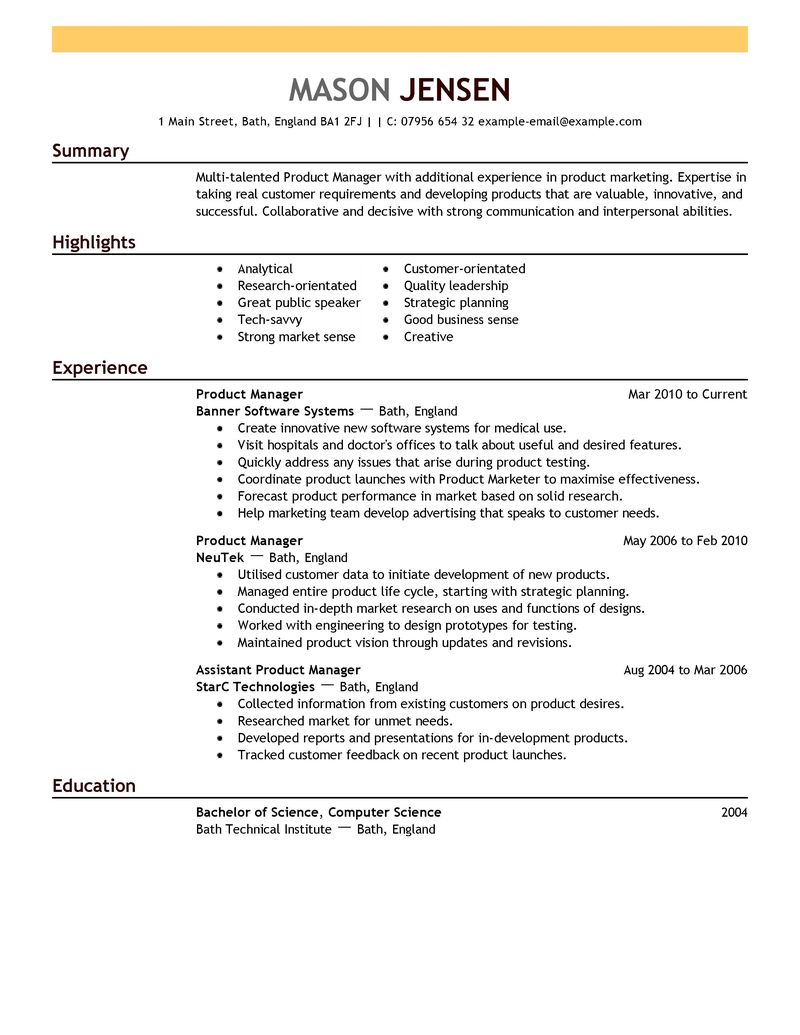 resume livecareer