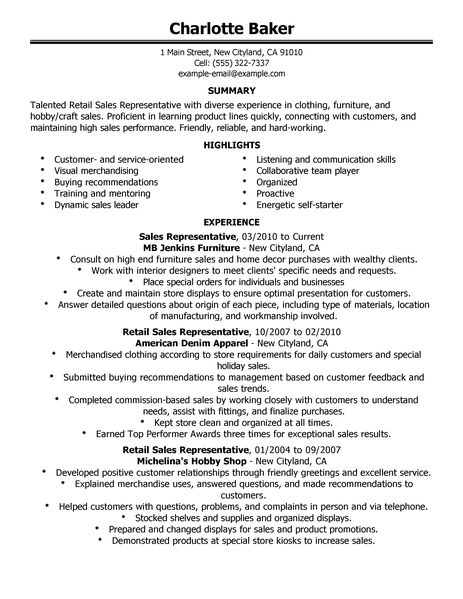 Retail Customer Service Resume Sample Unforgettable Customer