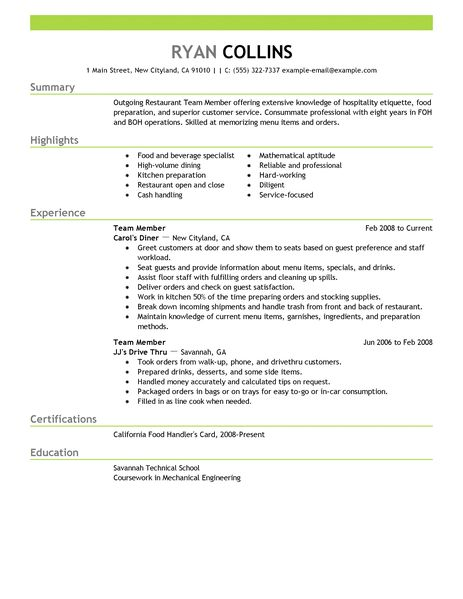 responsible thesaurus resume