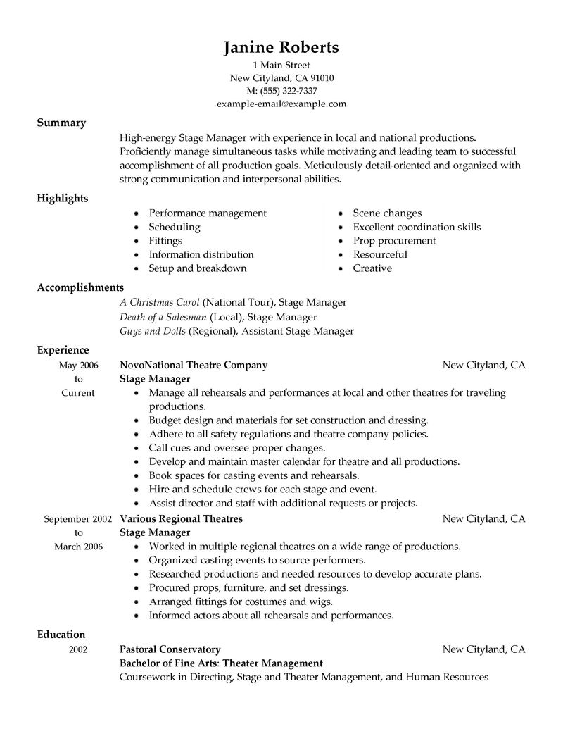 Best Supervisor Resume Example LiveCareer