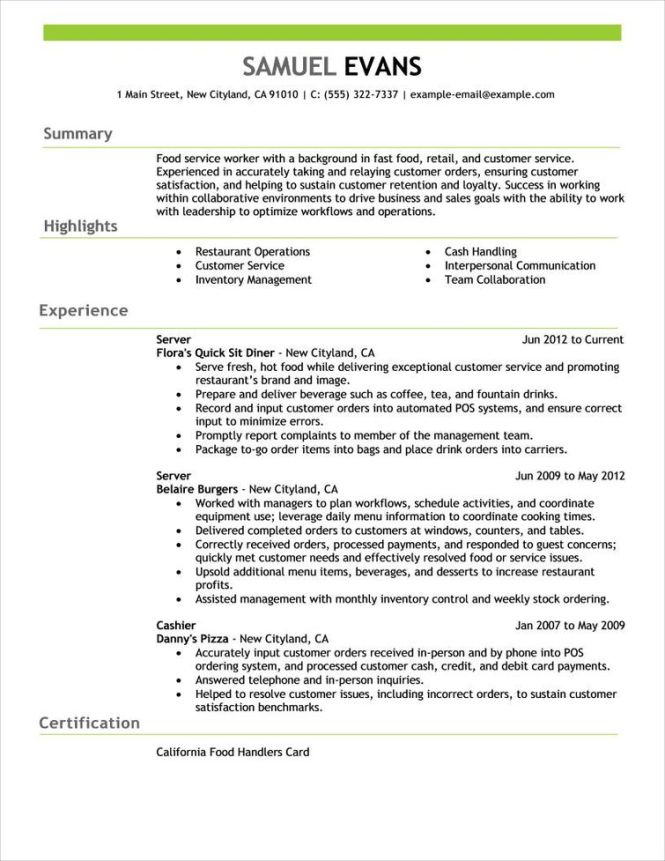 Sales Resume Template - Resume Sample