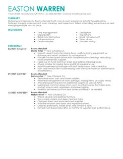 Room attendant resume example best dissertation abstract ghostwriter site online mba emba resume yelopaper Image collections