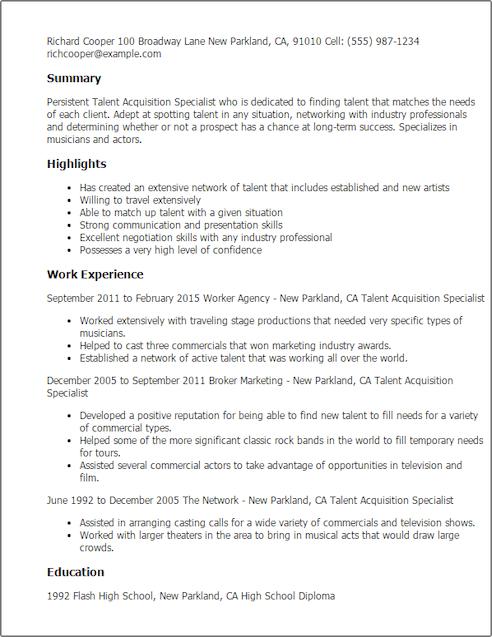 Cover letter template talent agent  copywriteropeningswebfc2com