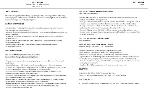 99+ Free Professional Resume Formats & Designs | LiveCareer