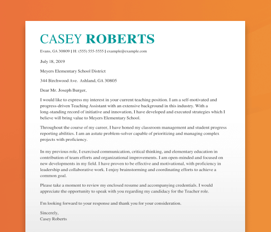 When you create a resume and cover letter, specific word choices help your resume stand out from the competition. Free To Use Online Cover Letter Builder Generate Yours Now Livecareer