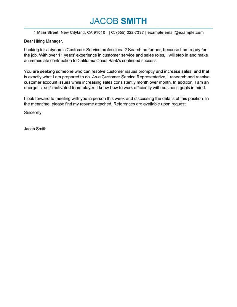bank customer service representative resume examples