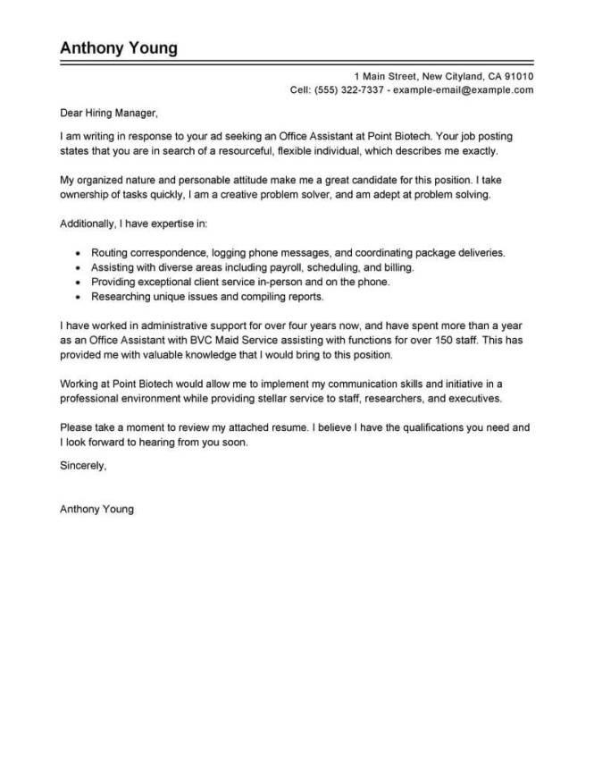 Resume Send Email Format
