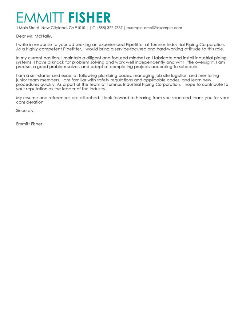 Cover Letter Template Microsoft Word Pir Advice Piperer Jobs Are Available  For Skilled Professionals With The. Satellite Tv Installer ...