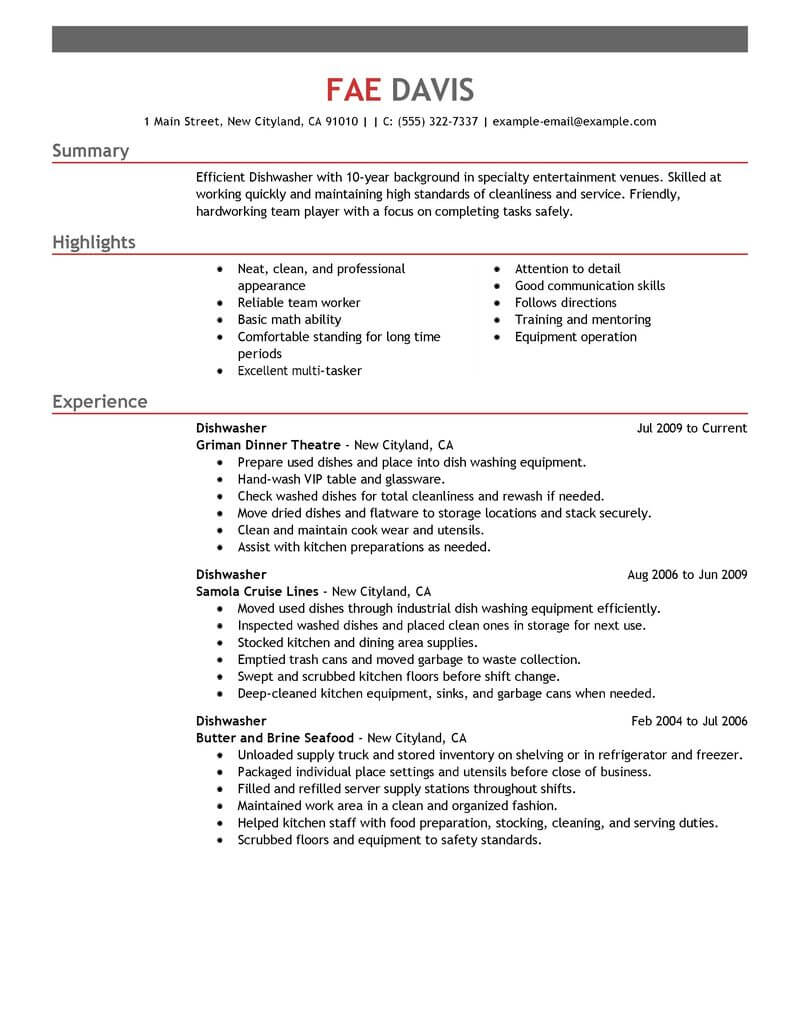 resume no bullet points