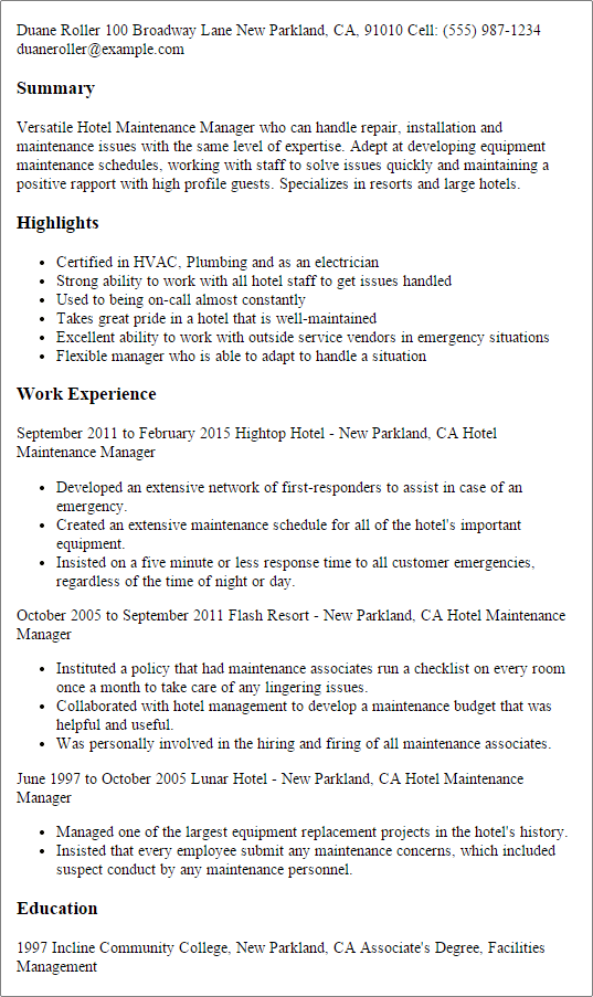 sample customer service manager resume