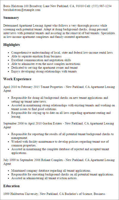 Real Estate Resume Templates to Impress Any Employer ...