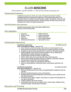 College Student Resume Template For