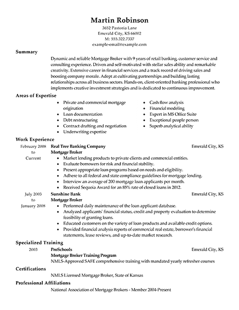 Best Real Estate Agent Resume Example LiveCareer