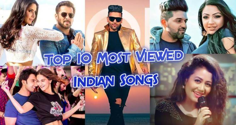 Top 10 most viewed music videos in India