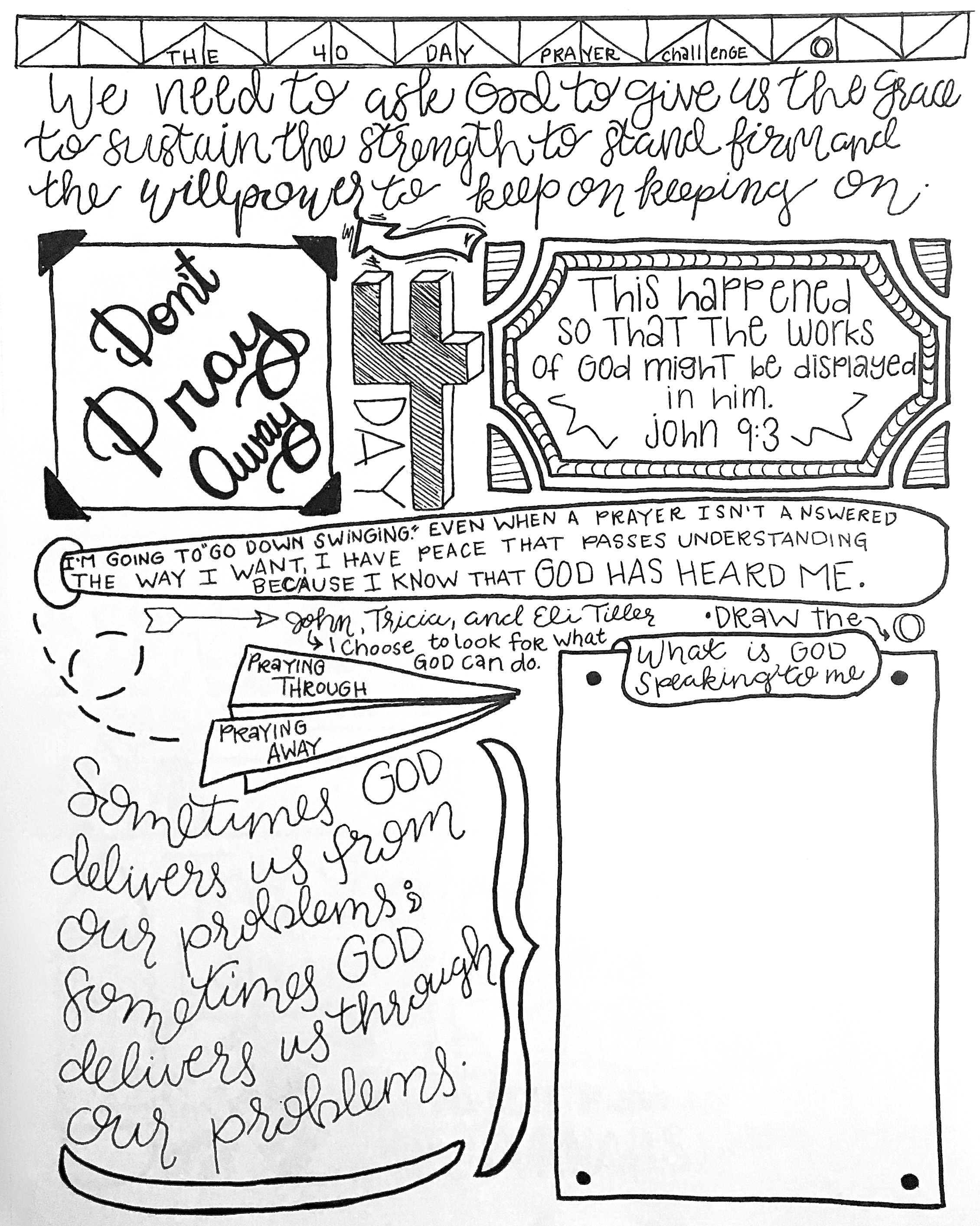 Draw The Circle 40 Day Prayer Challenge Day 4 5 Weekend Round Up