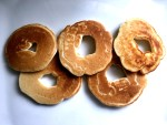 Breakfast fit for an Olympian - Olympic Ring Pancakes