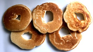Breakfast fit for an Olympian – Olympic Ring Pancakes