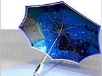 Umbrella - starry night