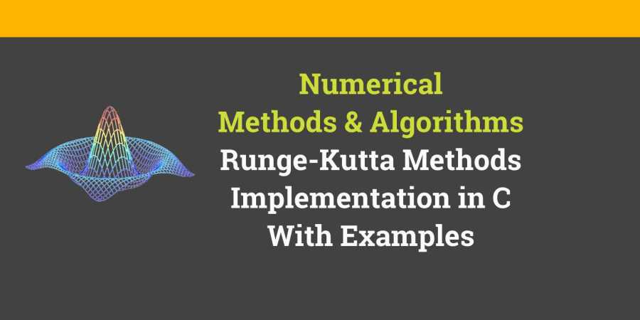 Runge kutta method