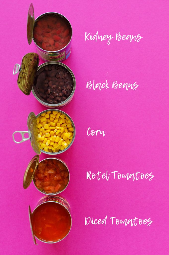 Taco Soup in 20 Minutes Vegetarian and MeatEater Friendly