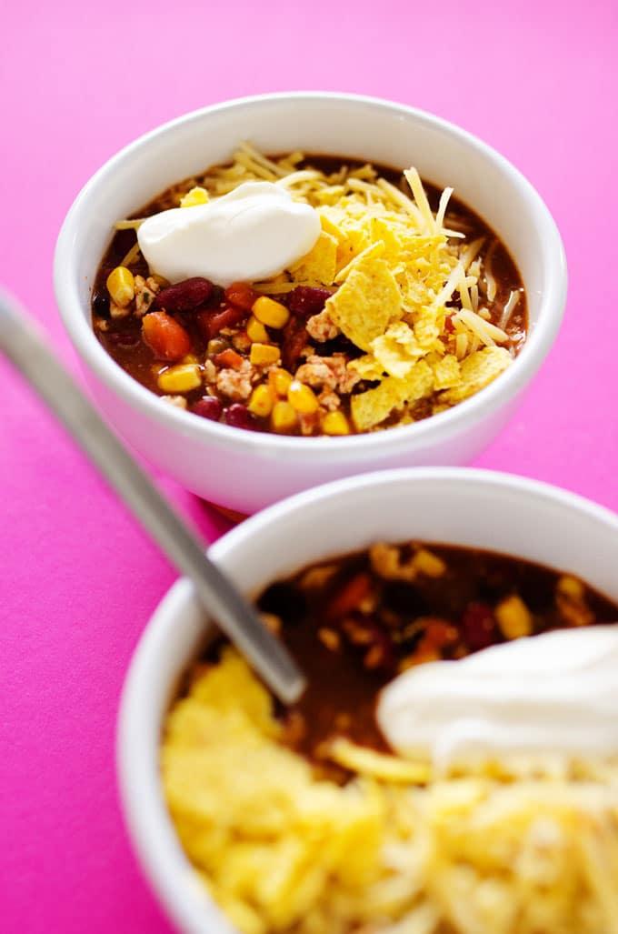 8. 20 Minute Taco Soup