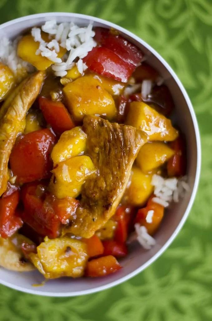 Chicken Mango Stir Fry
