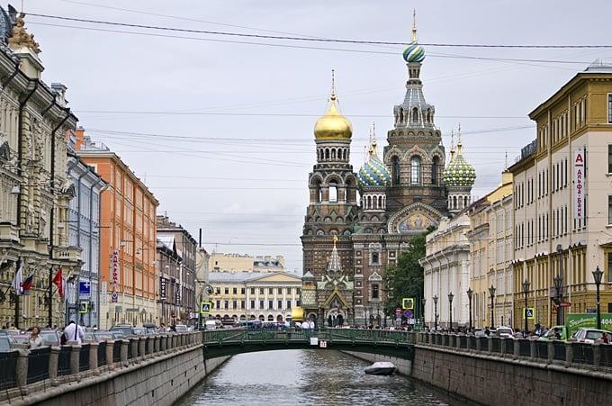 St. Petersburg Church Spilled Blood