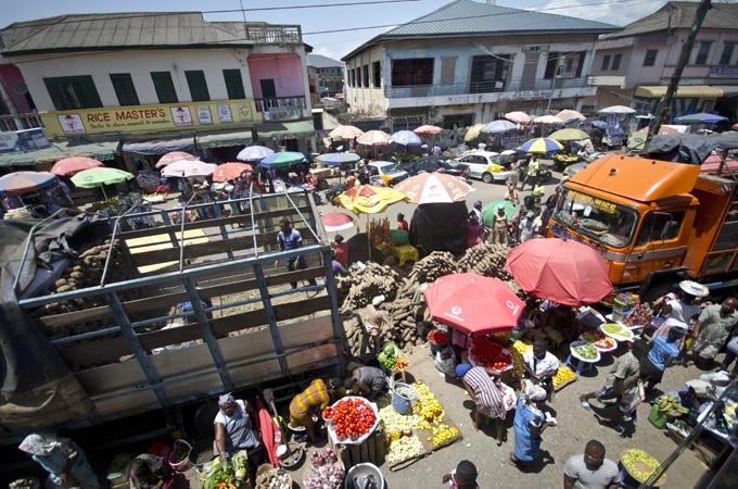 Makola Market Accra, Ghana