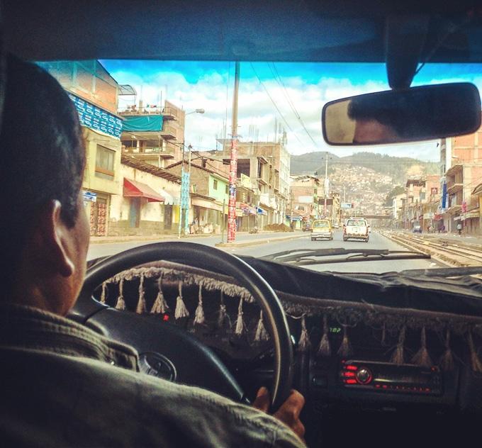Lima, Peru Taxi