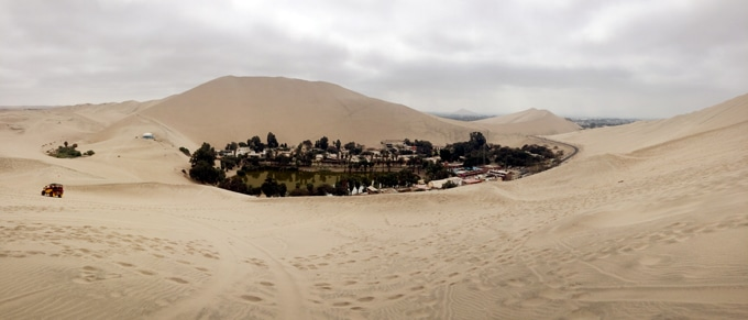 Hucachina, Peru