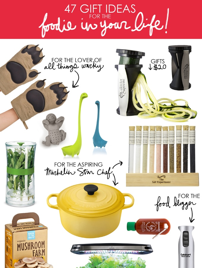 47 Gift Ideas for the Foodie in Your Life