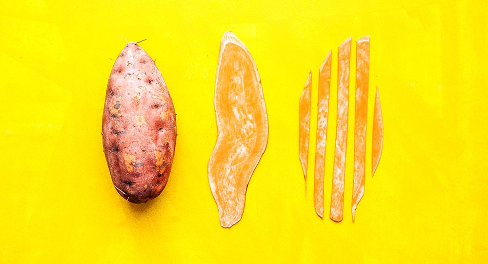 How to cut sweet potato noodles