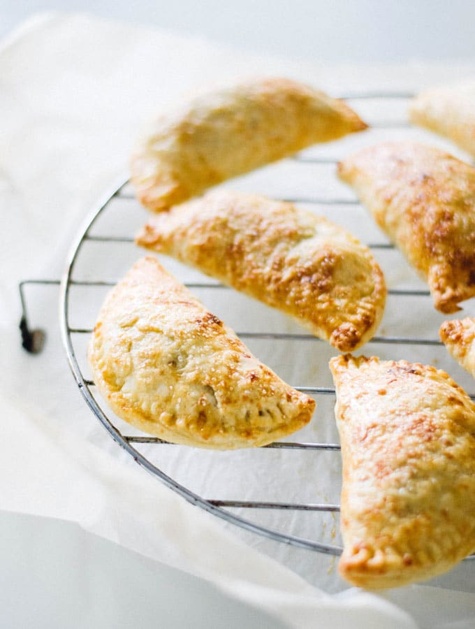 Apple Gouda Hand Pies + A Blog Birthday Survey!