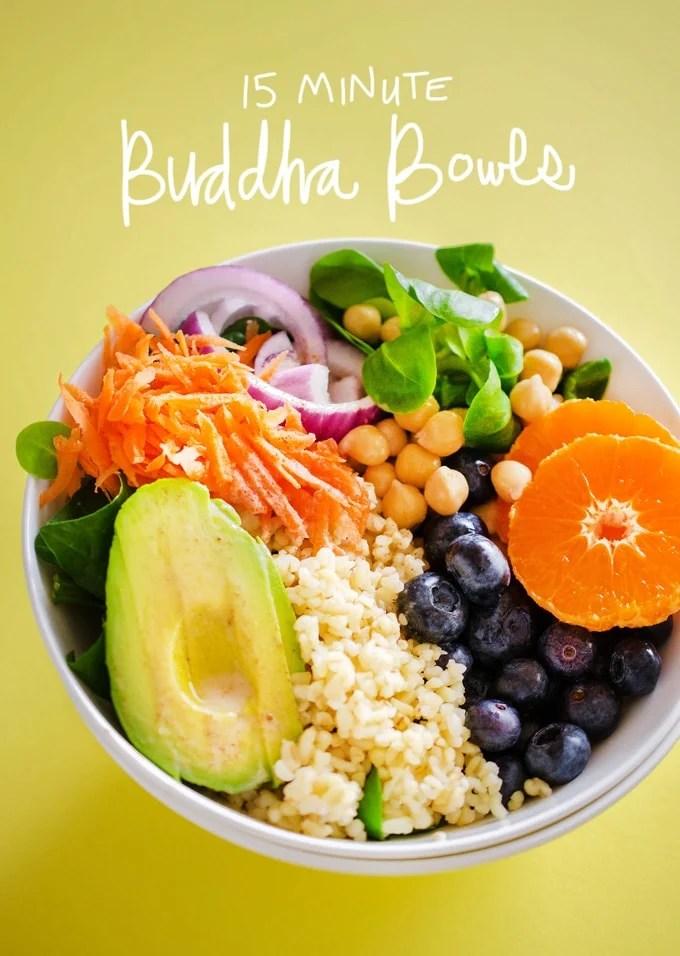 15 Minute Buddha Bowls