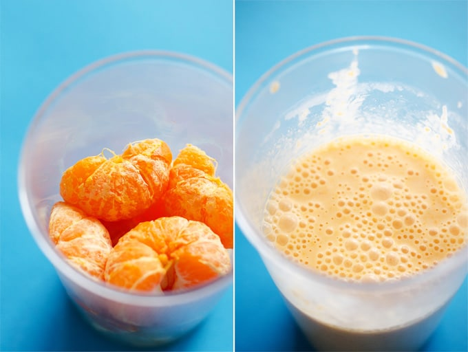Healthy Orange Dreamsicle Smoothie