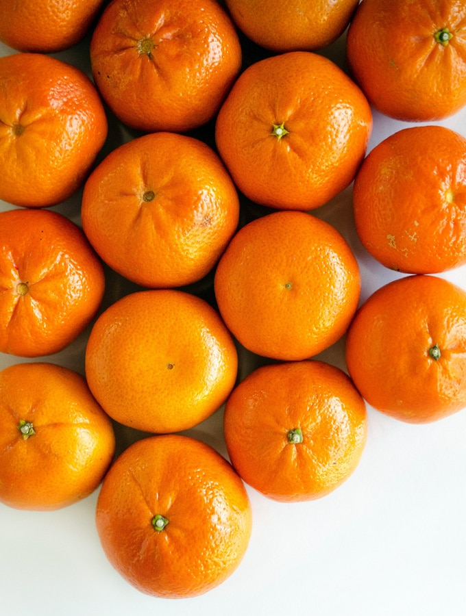 Tangerines, (mandarin oranges), raw Nutrition Facts & Calories