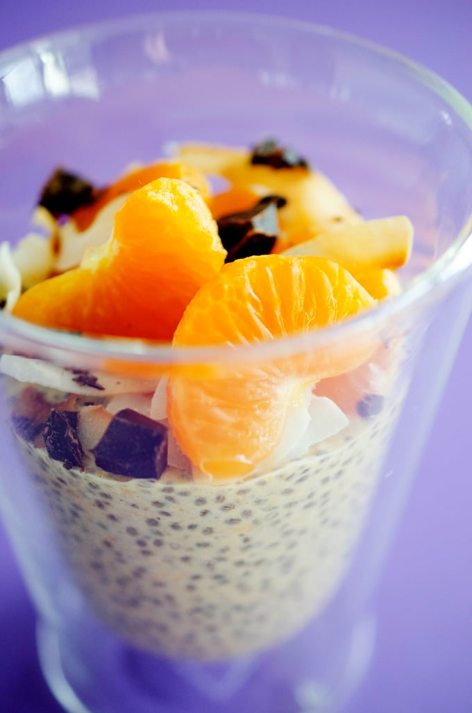 This orange chia seed breakfast pudding, packed with protein and fiber, is a quick and deliciously healthy way to kickstart your day!