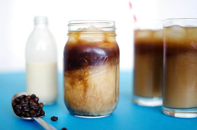 Fizzy Cold Brewed Coffee