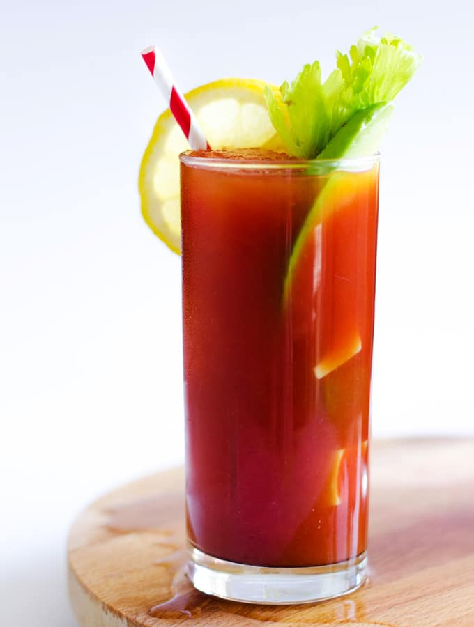 Bloody Mary with Avocado