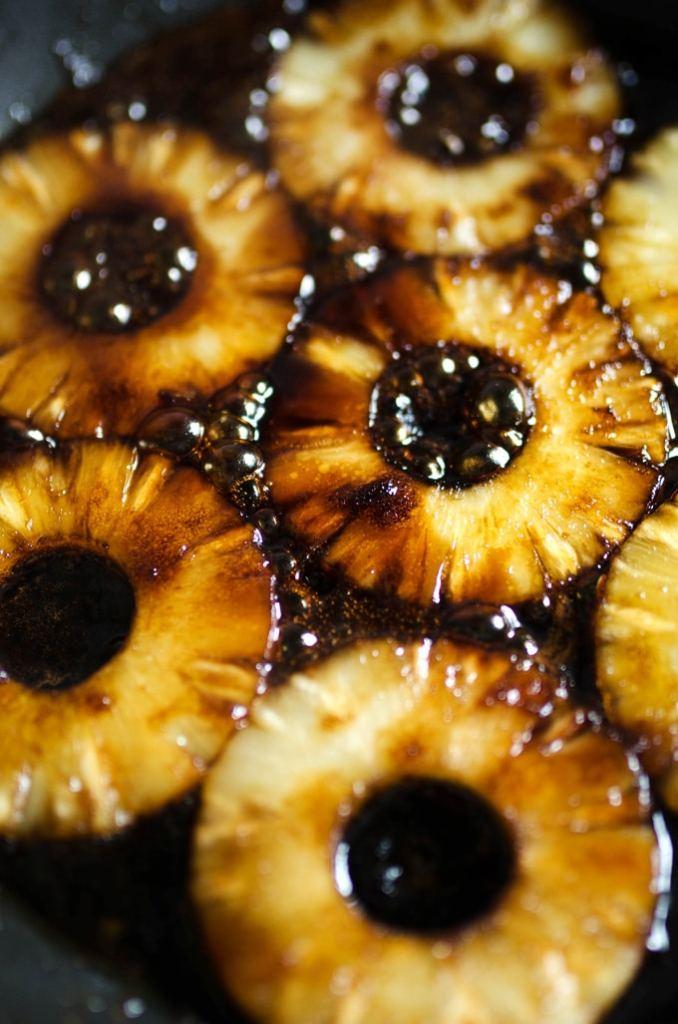Pineapple Upside Down Pancakes