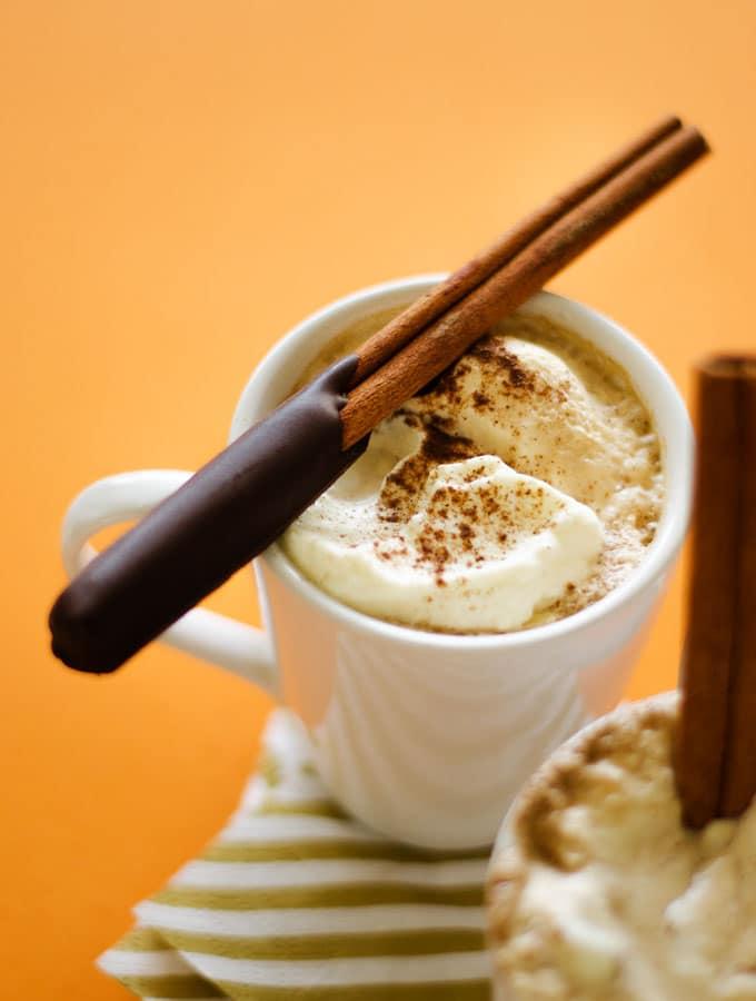 Chocolate-Coated Cinnamon Stick Coffee Stirrers Recipe