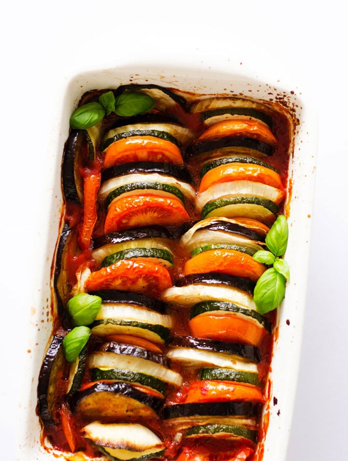 1 Pan Vegan Ratatouille
