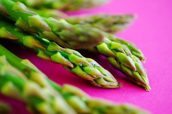 Everything you need to know about cooking with asparagus, including varieties, selection, storage, and nutrition information!