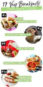 17 Filling Vegetarian Breakfast Ideas That Aren T Eggs
