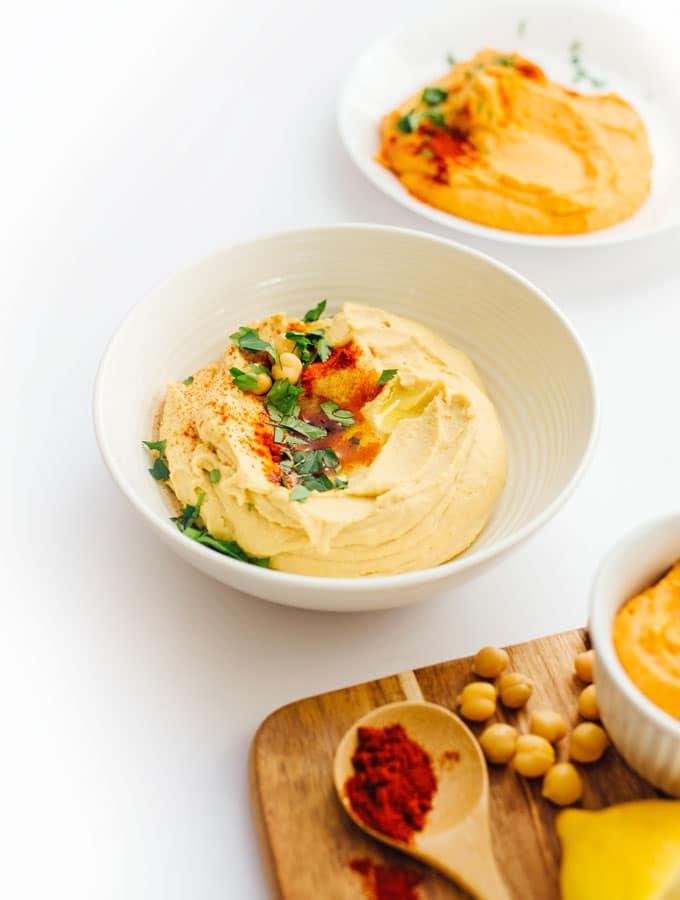 How to Make Hummus: 4 Ways