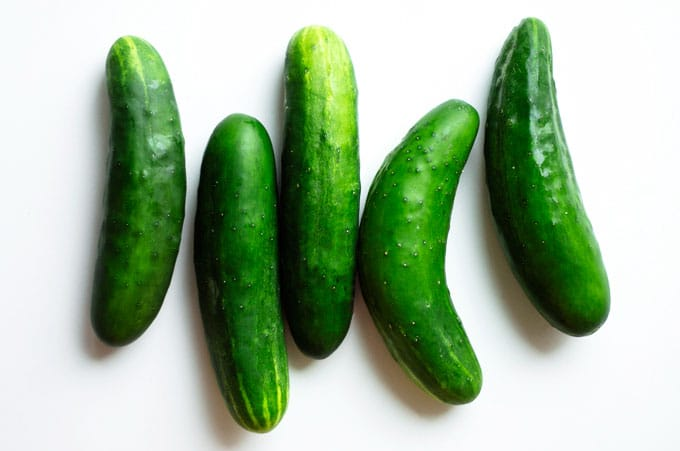 It's cucumber week here on Live Eat Learn! Here is everything you need to know about seasonality, variations, and nutrition of these tasty summer gourds.