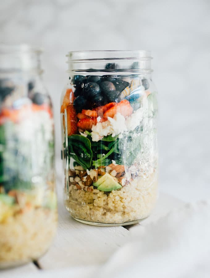 17. Summer Berry Salad Jar
