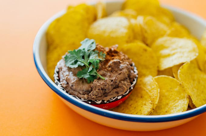 Easy Black Bean Dip Ready In 5 Minutes Live Eat Learn